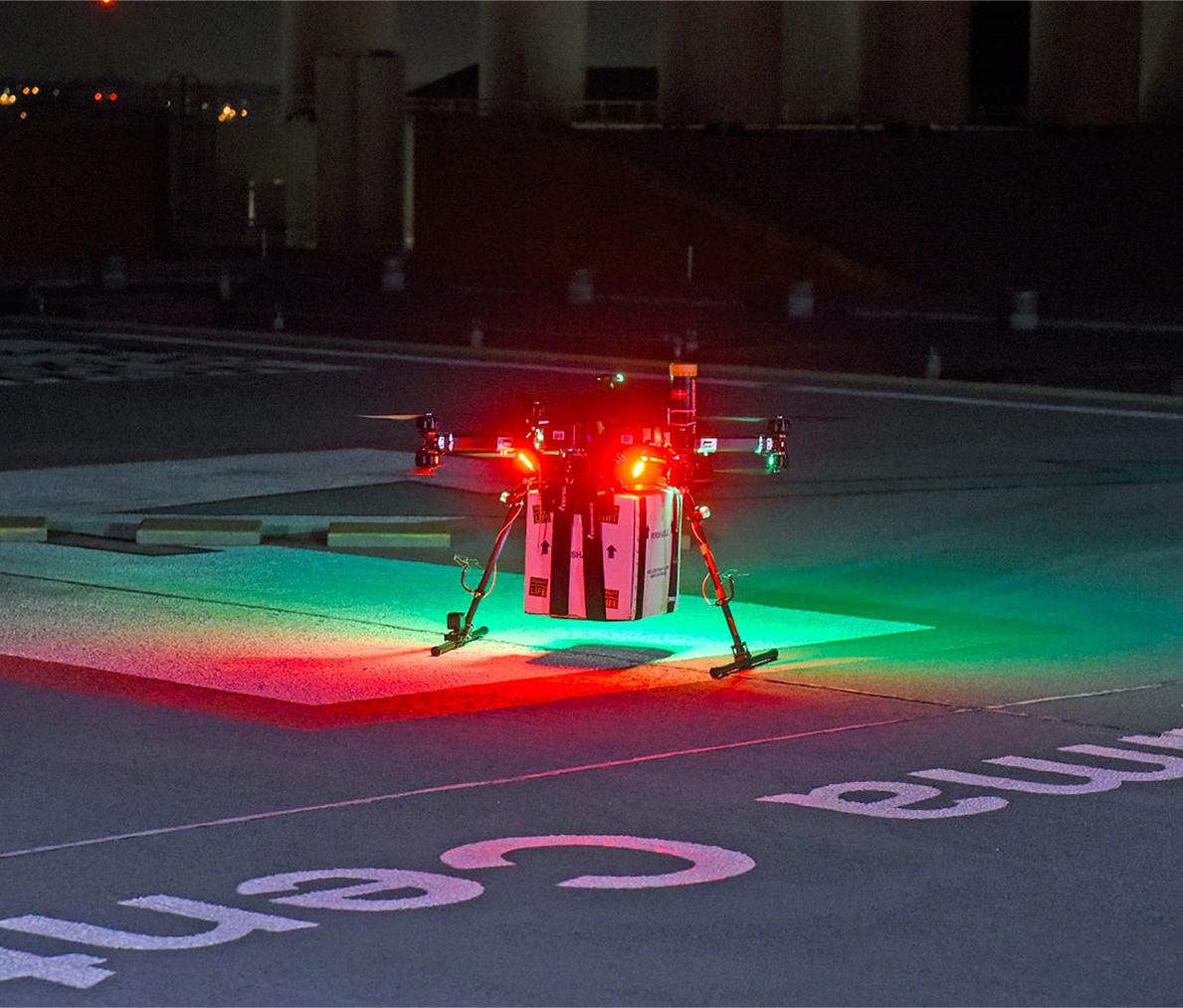 transplant drone